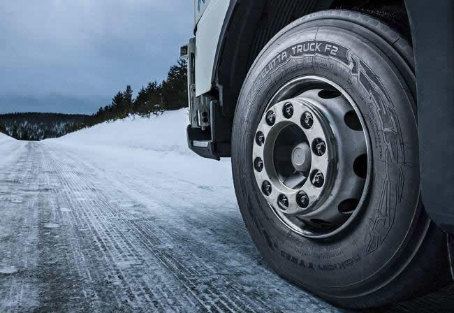 Нові зимові вантажні шини Нокіан Хаккапеліітта Трак Ф2