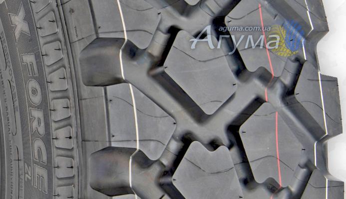 Дизайн протектора шин Michelin XZL