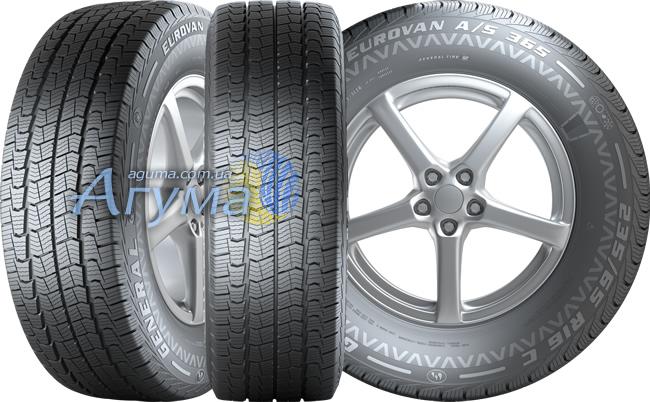 Шини General Tire Eurovan A/S 365