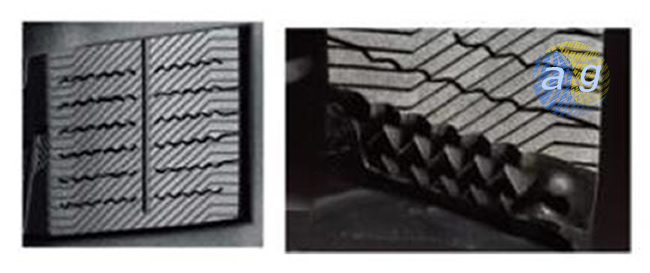 Канавки Double Microgroove і ламелі Quattro Pyramid Dimple Sipe