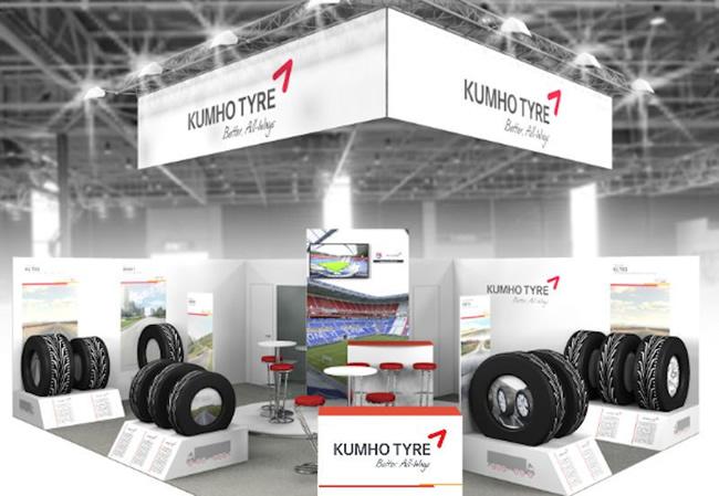 Експозиція Kumho на Solutrans 2017