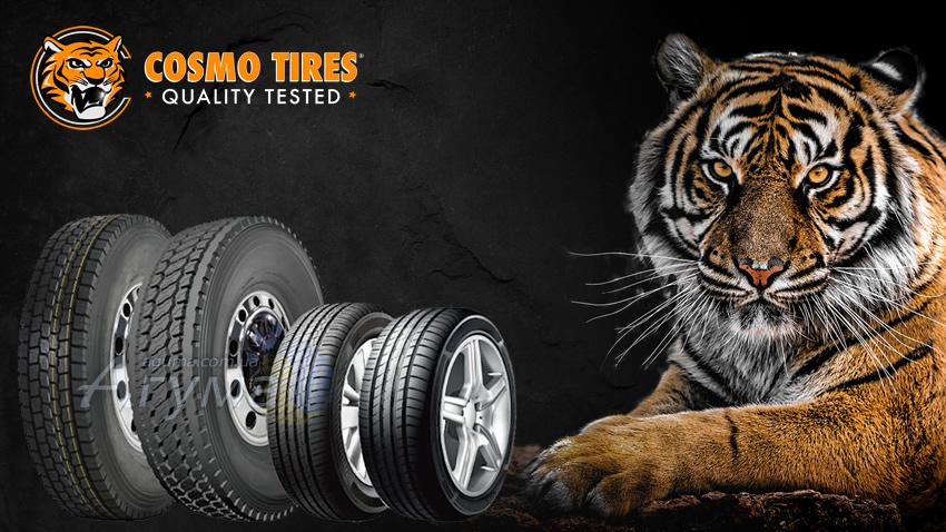 Шини з асортименту Cosmo Tires: Cosmo CT701 +, Cosmo CT708 +, Cosmo RC-17 і Cosmo Mucho Macho