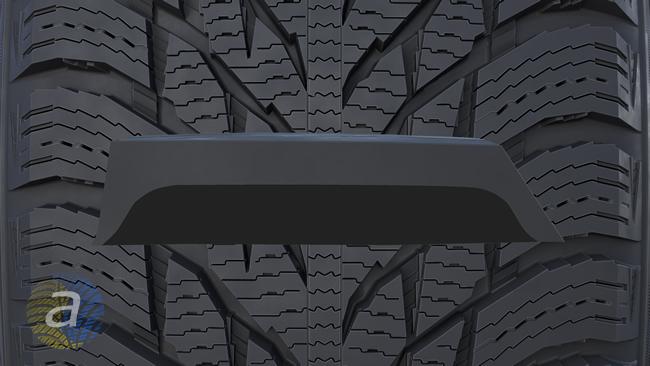 Базовий і верхній шар гуми