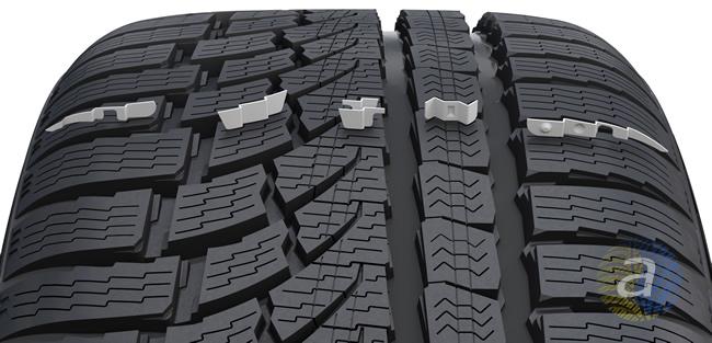 Функціональні ламелі (Functional Performance Siping), що підвищують загальну продуктивність шини